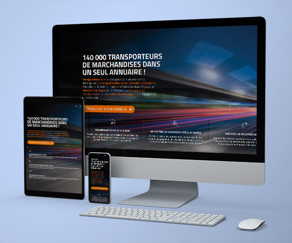 Webdesign Transport France